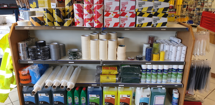 adhesive tapes and oils