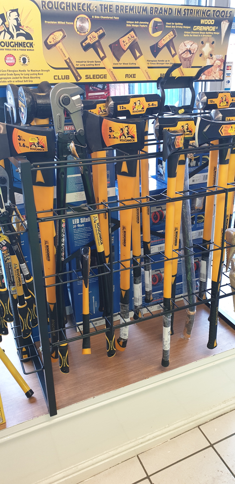 roughneck striking tools