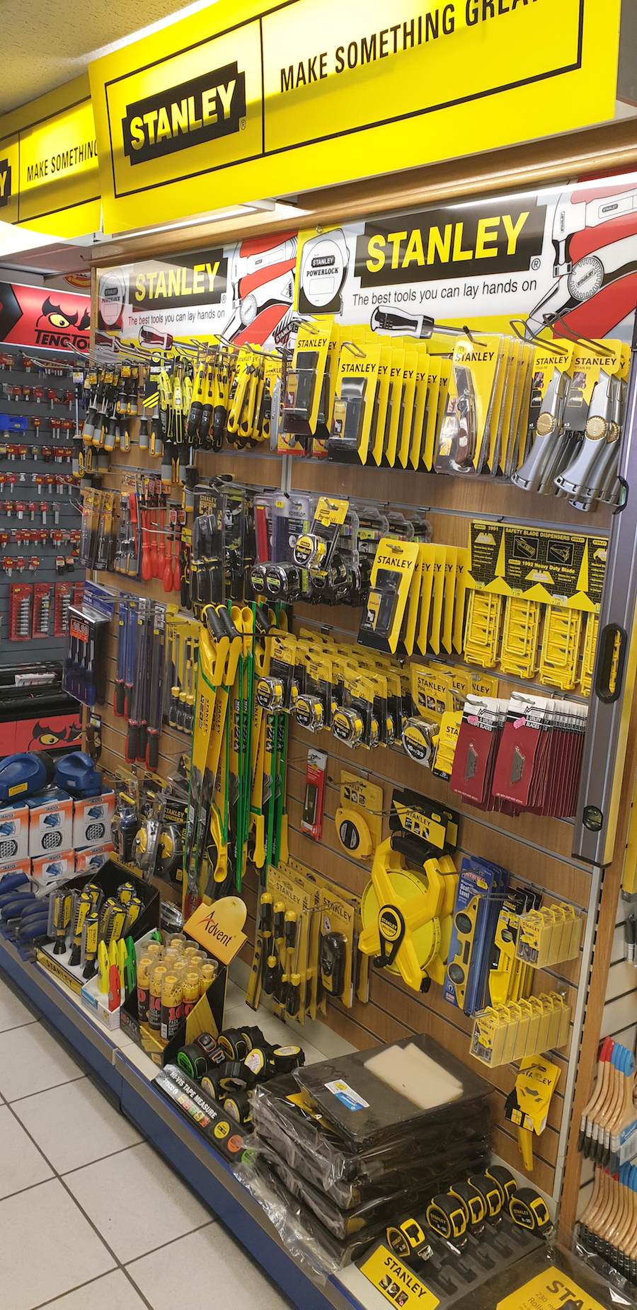 stanley products and tools